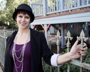 Author Stephanie Carroll at The Irwin Street Inn by Corey Ralston